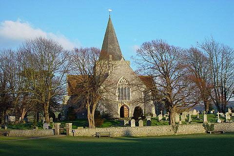 Photo of Alfriston in South Downs (East Sussex region)