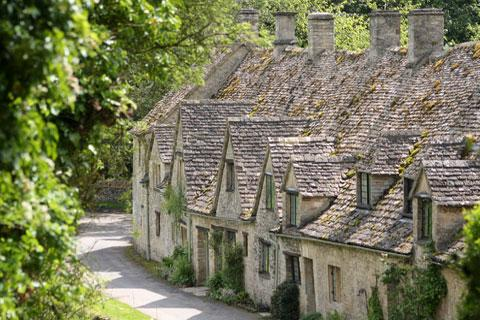 Photo of Bibury in Cotswolds (Gloucestershire region)