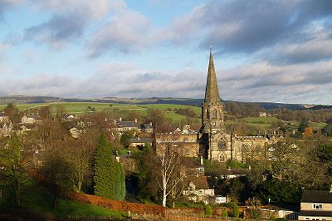 Photo of Bakewell in Peak District (Derbyshire region)