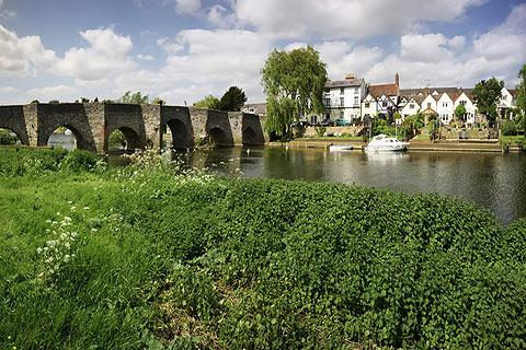 Photo of Bidford-on-Avon in Warwickshire (Warwickshire region)
