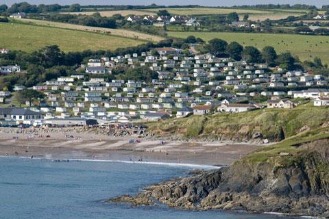 Photo of Bigbury on Sea in South Devon (Devon region)