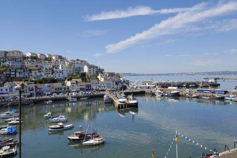 Photo of Brixham in South Devon (Devon region)