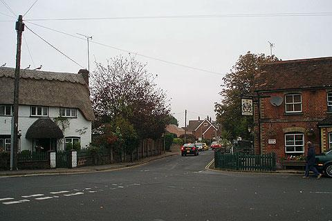Photo of Brockenhurst in New Forest (Hampshire region)