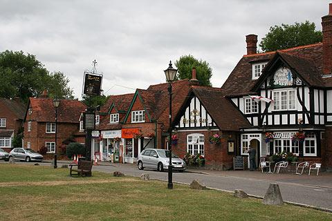 Photo of Chalfont St Giles in Chilterns (Buckinghamshire region)