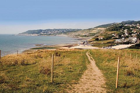 Photo of Charmouth in Jurassic Coast (Dorset region)