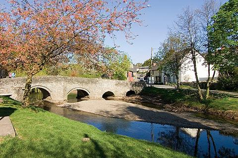 Photo of Clun in Shropshire Hills (Shropshire region)