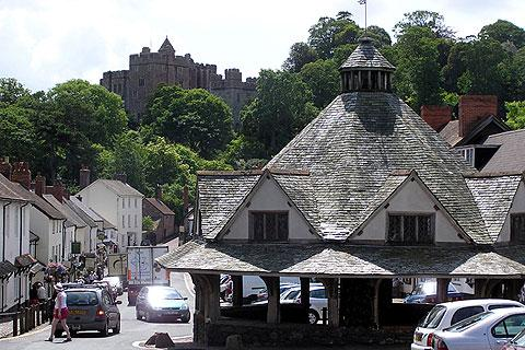 Photo of Dunster in Exmoor (Somerset region)