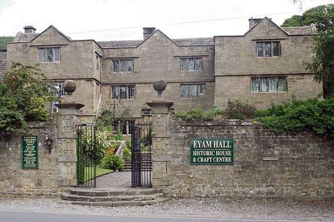 Photo of Eyam in Peak District (Derbyshire region)