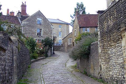 Photo of Frome in Mendip Hills (Somerset region)