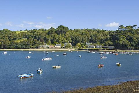 Photo of Helford in Cornwall (Cornwall region)