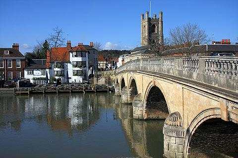 Photo of Henley-on-Thames in Oxfordshire (Oxfordshire region)