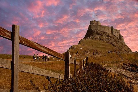 Photo of Lindisfarne in Northumberland Coast (Northumberland region)