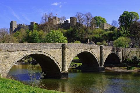 Photo of Ludlow in Shropshire Hills (Shropshire region)