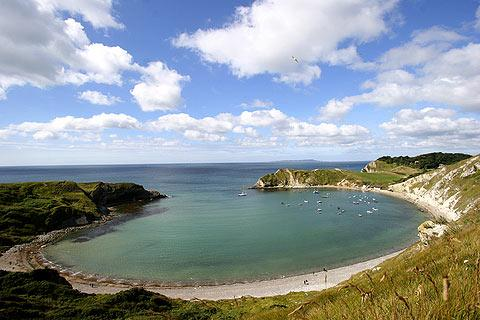 Photo of Lulworth Cove in Jurassic Coast (Dorset region)