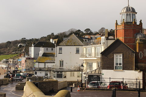 Photo of Lyme Regis in Jurassic Coast (Dorset region)