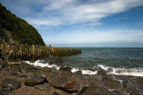 Photo of Lynmouth in Exmoor (Devon region)