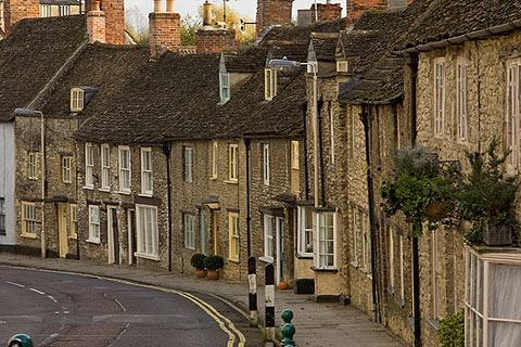 Photo of Malmesbury in Cotswolds (Wiltshire region)