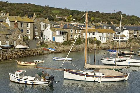 Photo of Mousehole in Cornwall (Cornwall region)