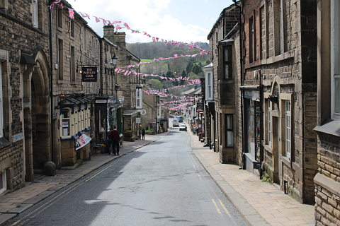 Photo of Pateley Bridge in Yorkshire Dales (North Yorkshire region)