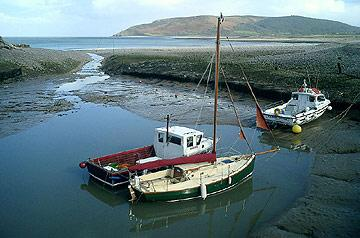 entrance to Porlock Weir