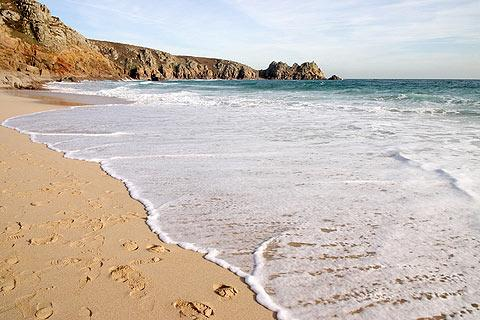 Photo of Porthcurno in Cornwall (Cornwall region)