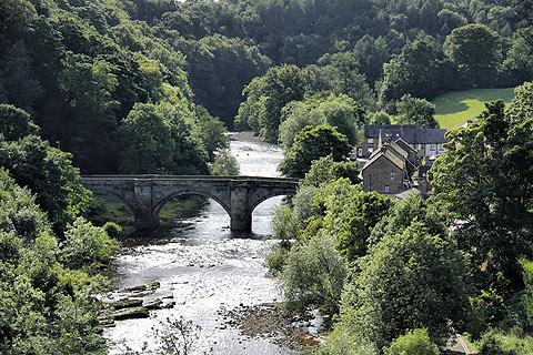 Photo of Richmond in Yorkshire Dales (North Yorkshire region)