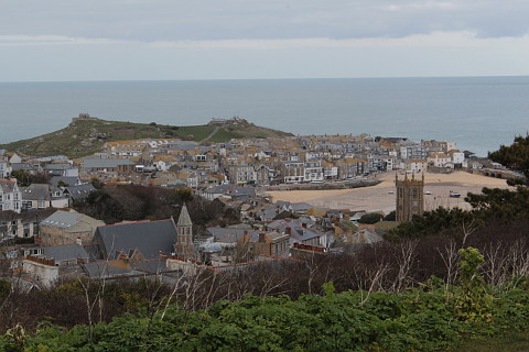 Photo of Saint Ives in Cornwall (Cornwall region)