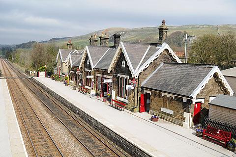 Photo of Settle in Yorkshire Dales (North Yorkshire region)