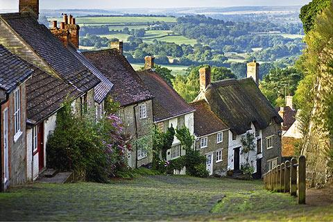 Photo of Shaftesbury in Dorset (Dorset region)