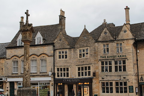 Photo of Stow on the Wold in Cotswolds (Gloucestershire region)