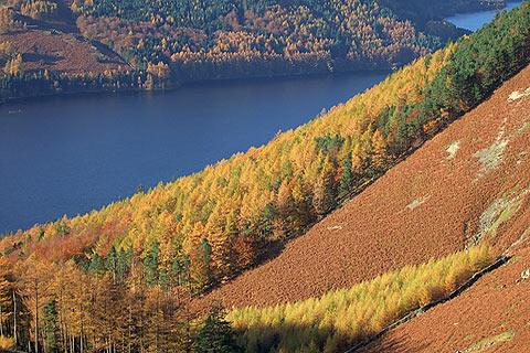 Photo of Thirlmere in Lake District (Cumbria region)