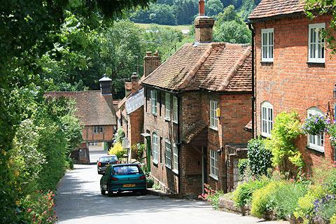 Photo of West Wycombe in Chilterns (Buckinghamshire region)