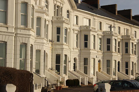 Regency villas in Exmouth