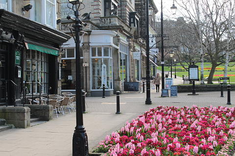 Montpellier Parade in Harrogate