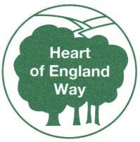 Waymark Sign for Heart of England Way